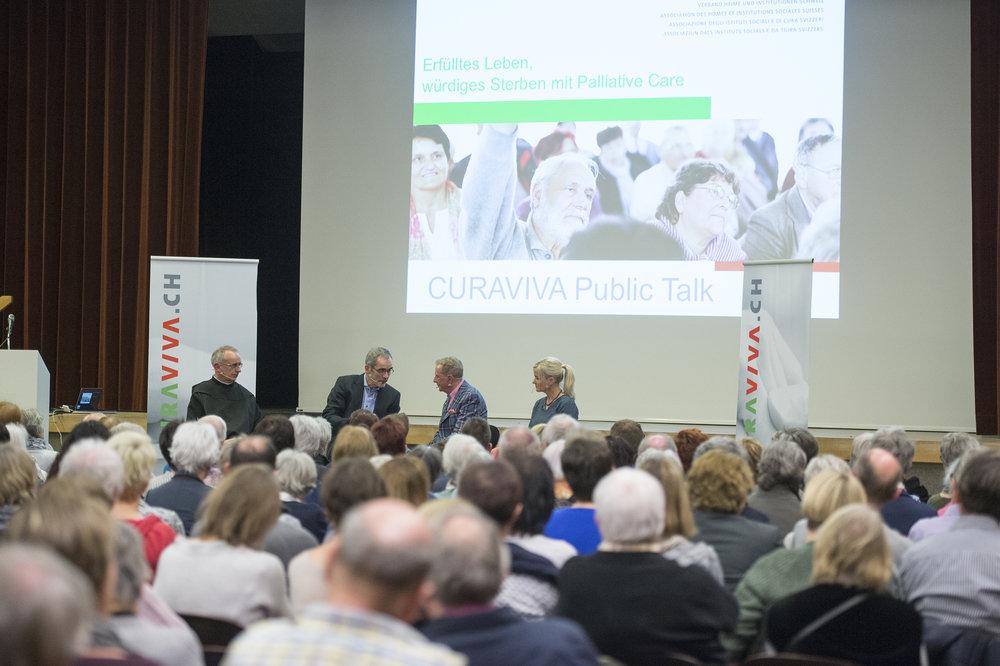 Impressionen Public Talk Palliative Care 22