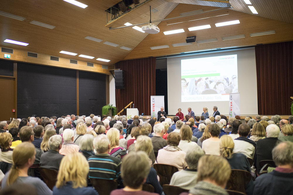 Impressionen Public Talk Palliative Care 23