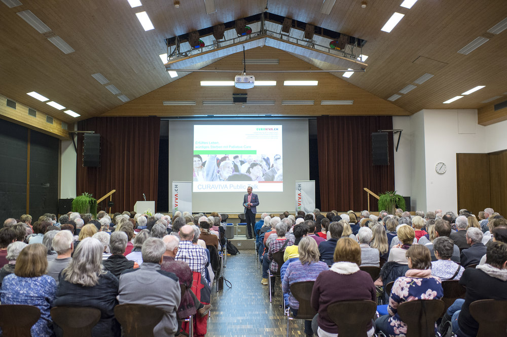 Impressionen Public Talk Palliative Care 13