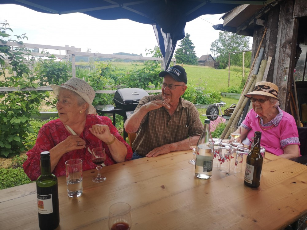 Sommerausflüge in den Garten unseres Küchenchefs 1